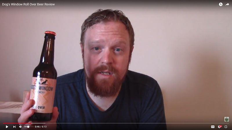 Real ale review screenshot