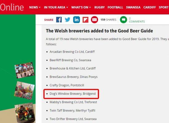 Wales online good beer guide